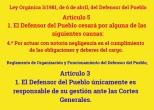 1 DEFENSOR DEL PUEBLO LEY Y REGLAMENTO